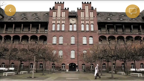 Berlin's Charité Hospital is the oldest in the capital and the largest university clinic in Europe.