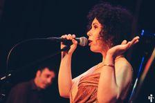 Israeli singer Nitsan Bernstein performs her cabaret show in Berlin
