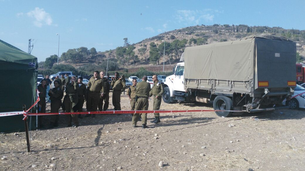 Home Front Command, Magen David Adom, the Police and the IDF have set up a command center outside Zichron Yaakov to fight fires in the region