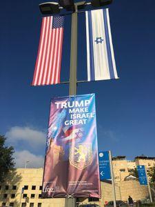 Euphorie et tension avant l'ouverture de l'ambassade US à Jérusalem