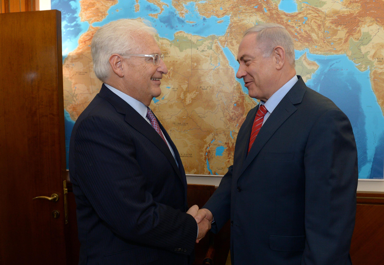 Le Premier ministre israélien rencontre l'ambassadeur des États-Unis à Jérusalem