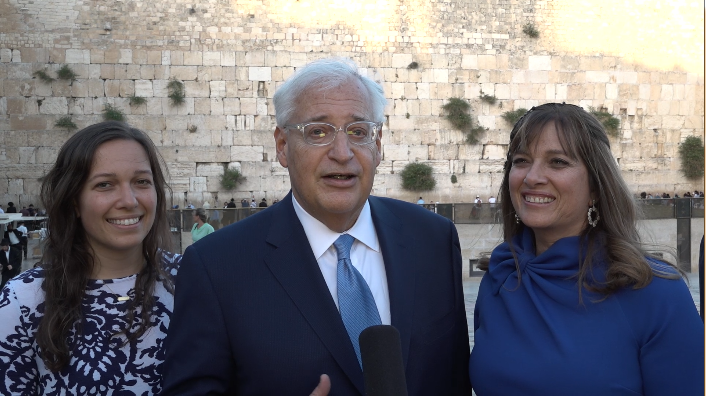 Trump's Charlottesville response 'wasn't fine', USA envoy to Israel says