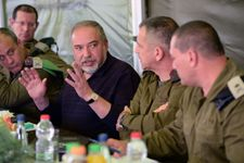 'Whoever harms us will be hurt himself'-Netanyahu joins Liberman in Gaza warning