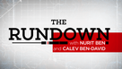 THE RUNDOWN | With Nurit Ben and Calev Ben-David