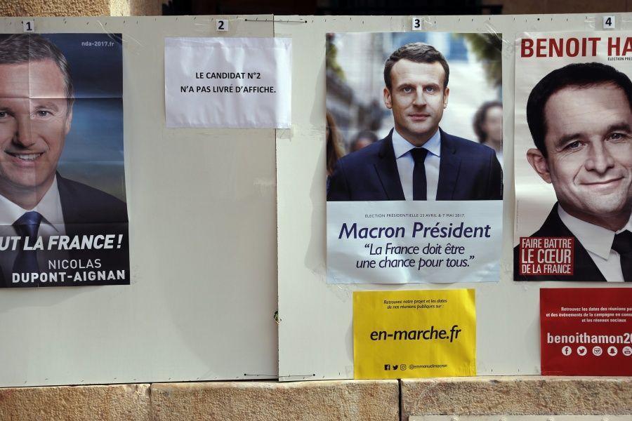 I news aucune affiche de le pen dans les bureaux de vote à l