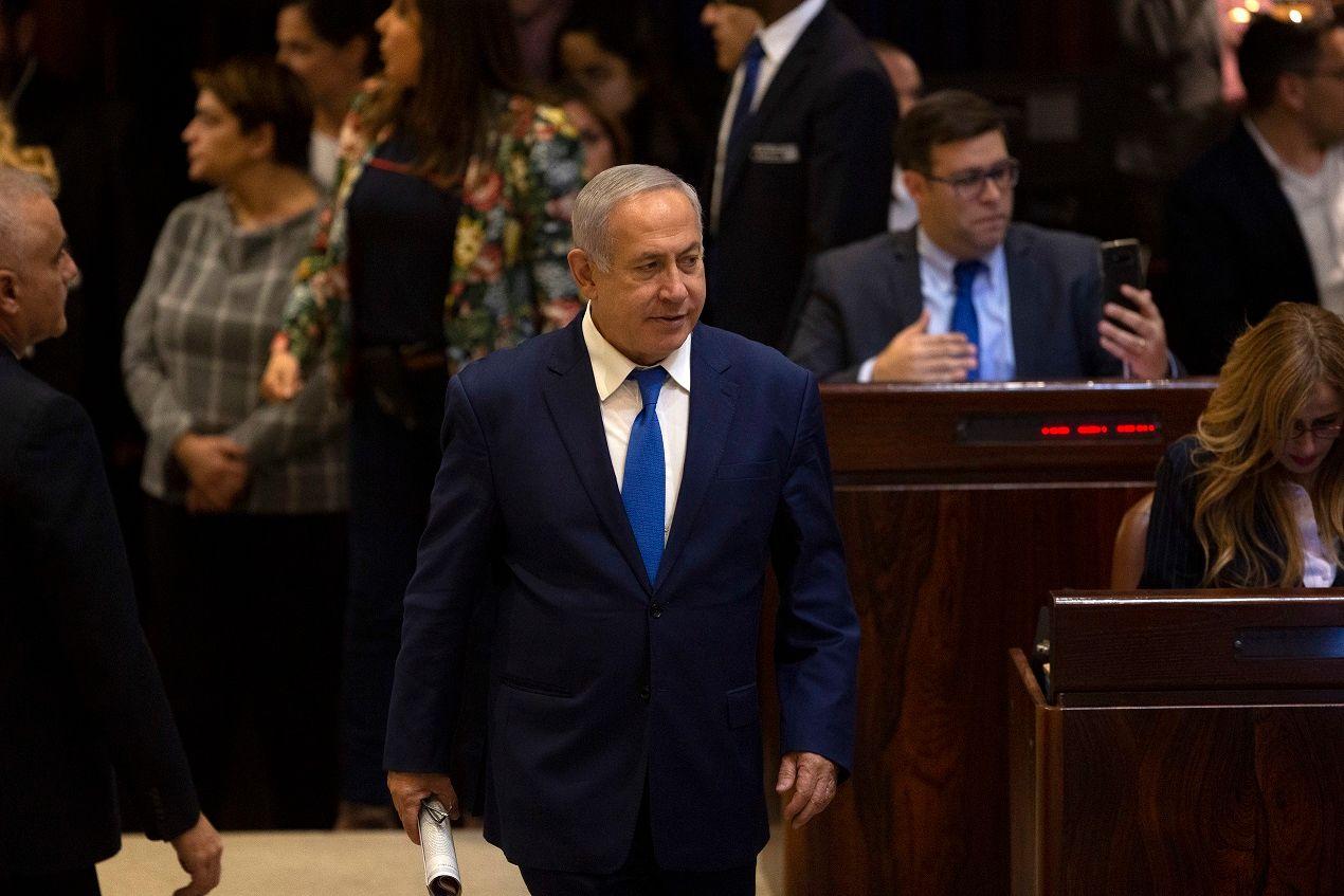 Netanyahu ar trangd