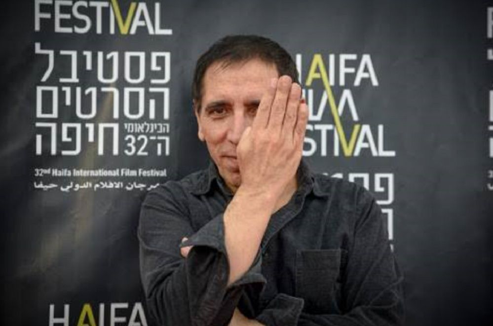 Acclaimed Iranian filmmaker Mohsen Makhmalbaf at the Haifa Film Festival 2016