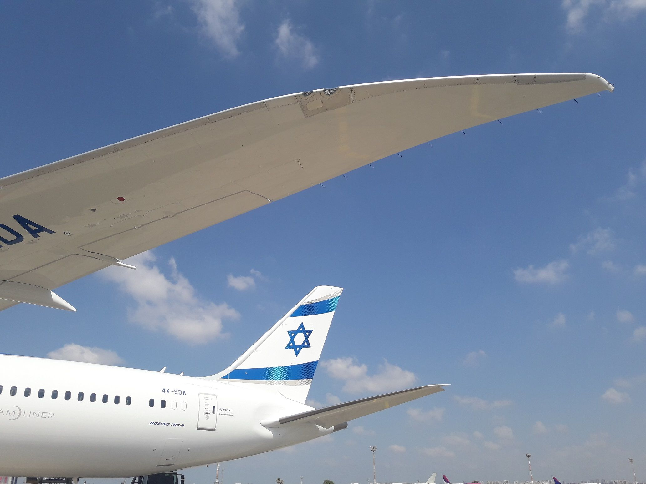PICTURE: First El Al 787 arrives in Tel Aviv