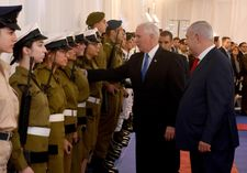 Women Waging Peace (WWP) call for Pence's support during Israel visit