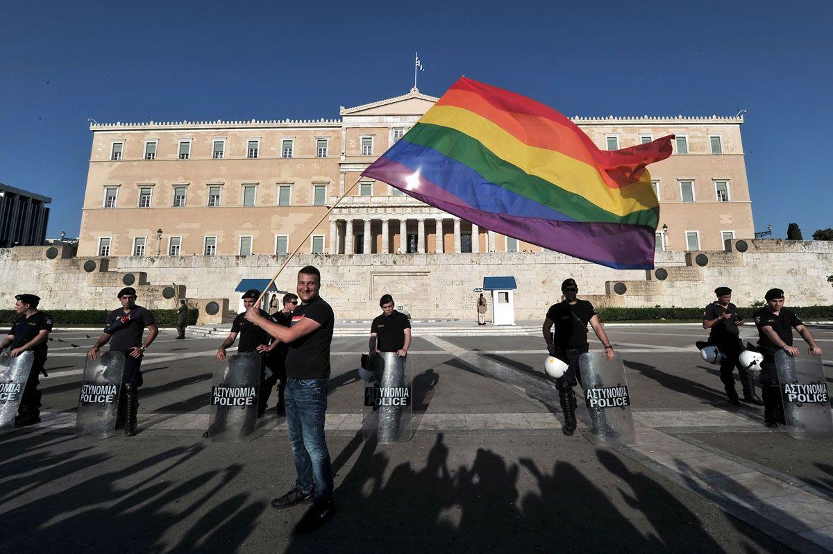pride in greek