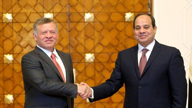 """L'Egypte et la Jordanie refusent de """"compromettre"""" la solution à deux Etats"""