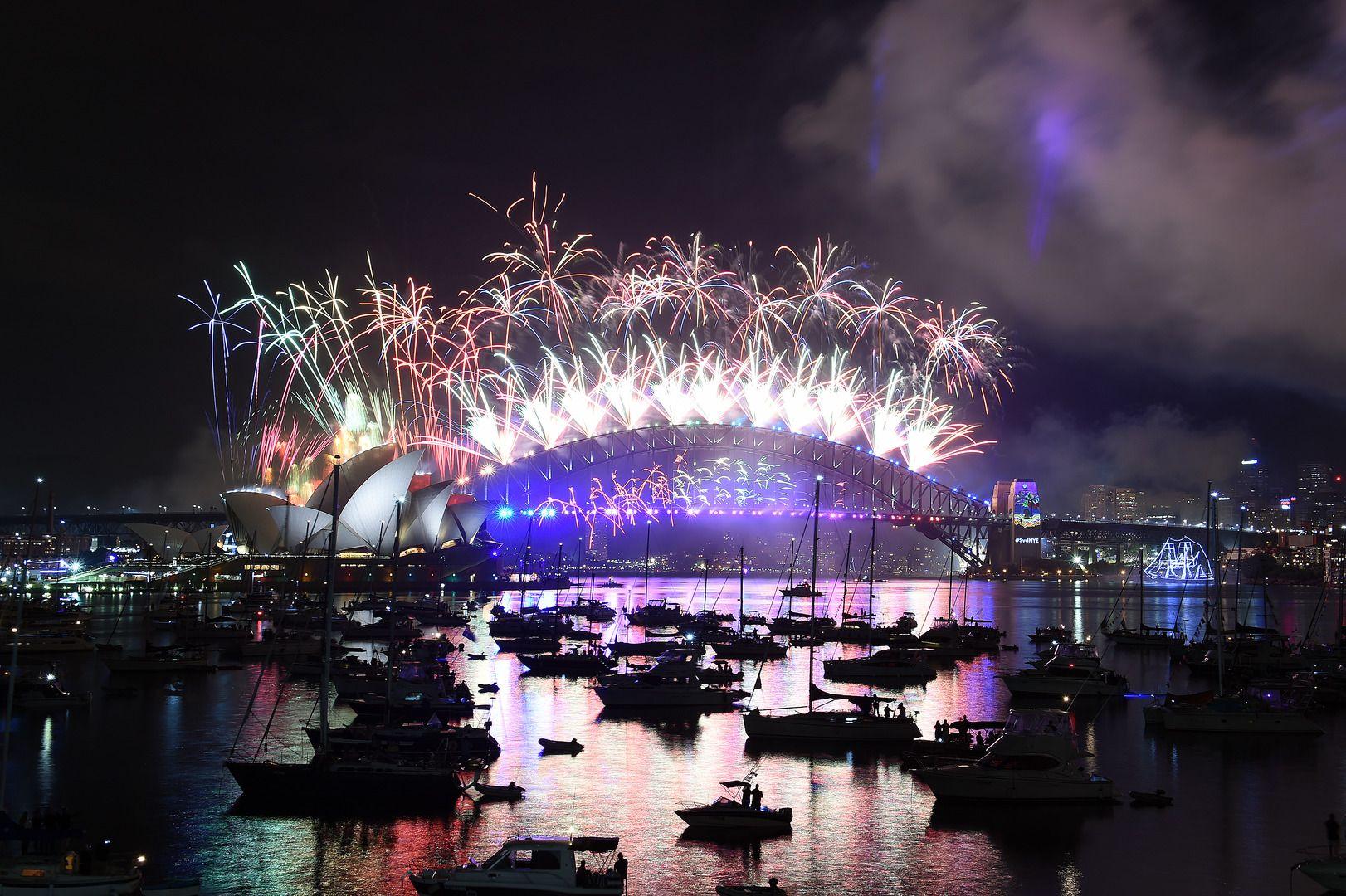 Nouvel an 2017 à Syndey, Australie