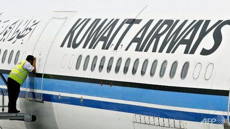 Kuwait Airways airplane