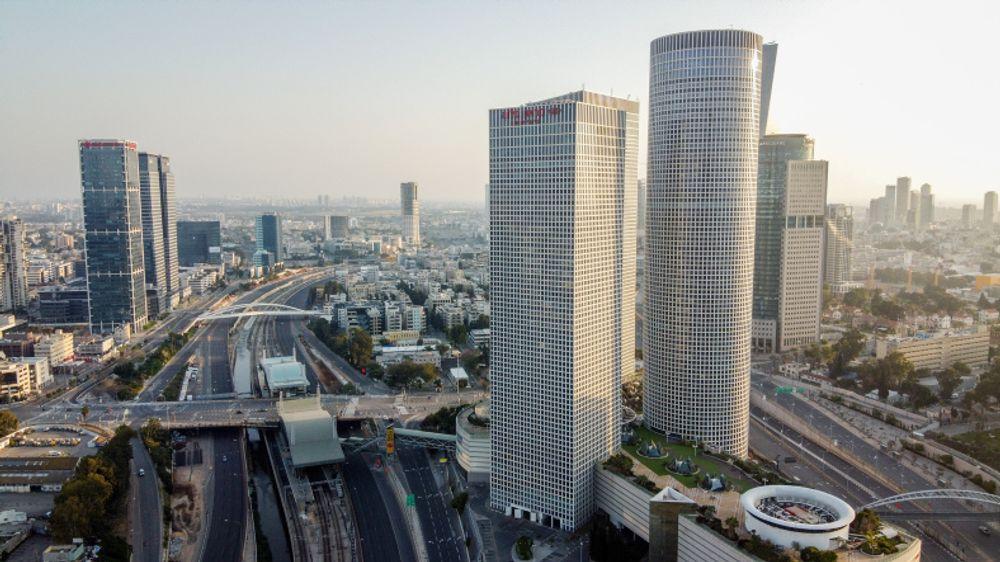 Vue générale de Tel-Aviv, le 14 avril 2020.