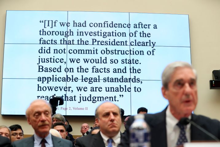 Image result for mueller quote sweeping and systemic fashion russia