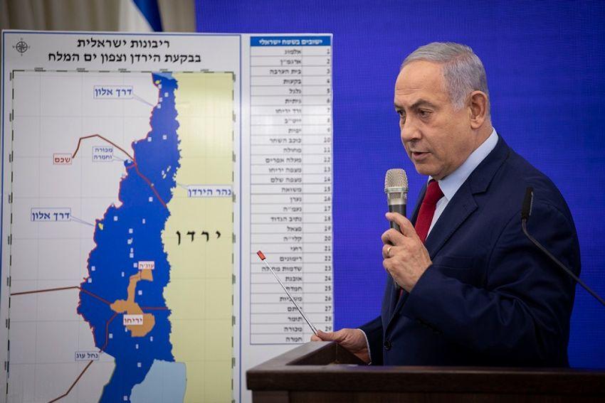 Netanyahu planeja anexar imediatamente 3 assentamentos judeus