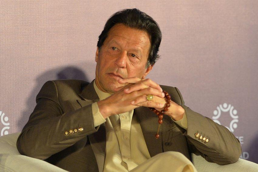 Illustration - Le Premier ministre pakistanais, Imran Khan, lors d'un Sommet sur les réfugiés à Islamabad, le 17 février 2020.