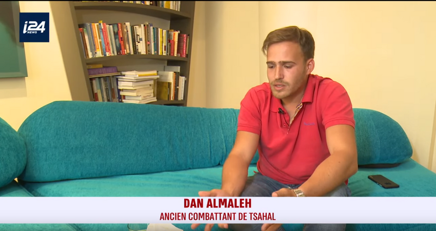 Dan Almaleh ancien combattant de l'armée israélienne, le 8 mai 2019