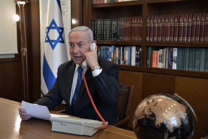 Le Premier ministre israélien Benyamin Netanyahou le 13 août 2020