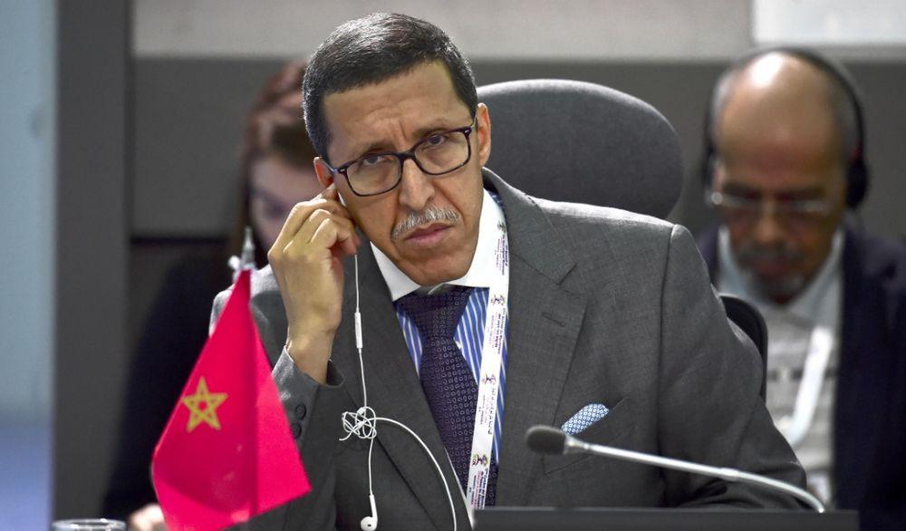 يستمع سفير المغرب لدى الأمم المتحدة ، عمر هلال ، خلال قمة حركة عدم الانحياز في بورلامار ، جزيرة مارغريتا ، فنزويلا ، في 16 سبتمبر 2016.