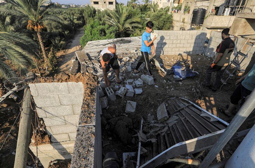 Hamas adverte  IDF após lançar ataques de retaliação em Gaza