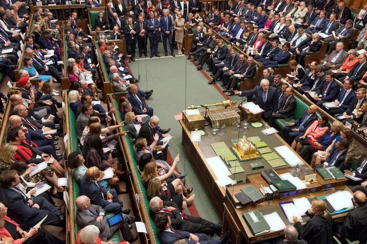 i24NEWS - British MPs reject PM Johnson's motion for general