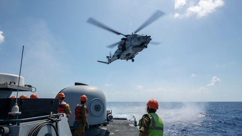 إسرائيل تستضيف تدريبات لقطع بحرية من 11 دولة لمواجهة زلزال 59e678a4682b8f3383d3a774d0dd76ec