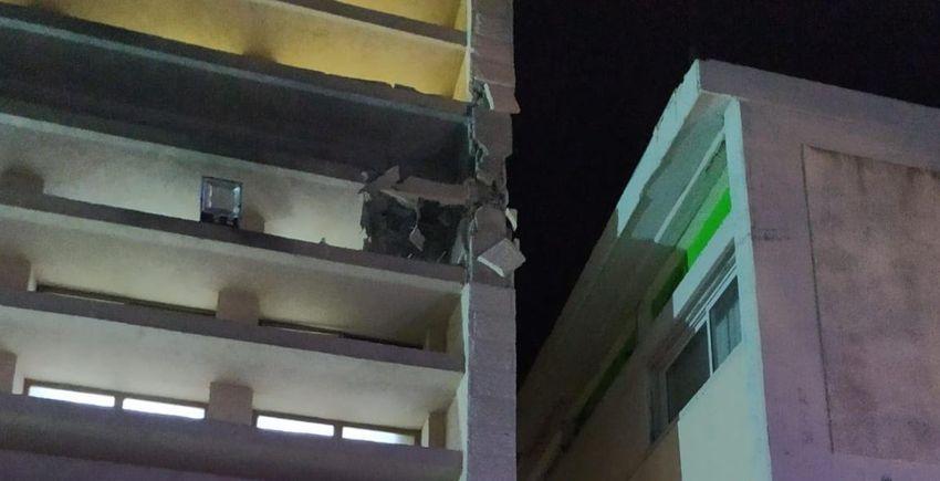 Yeshiva de Sderot frappée par une roquette en provenance de Gaza, le 13.06.19