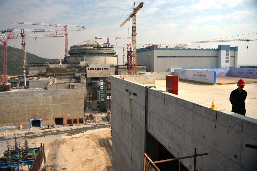 La centrale nucléaire sino-française de Taishan à l'extérieur de la ville de Taishan dans la province du Guangdong, le 8 décembre 2013