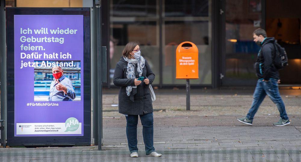 Image d'illustration-Une station de bus à Berlin le 16 novembre 2020