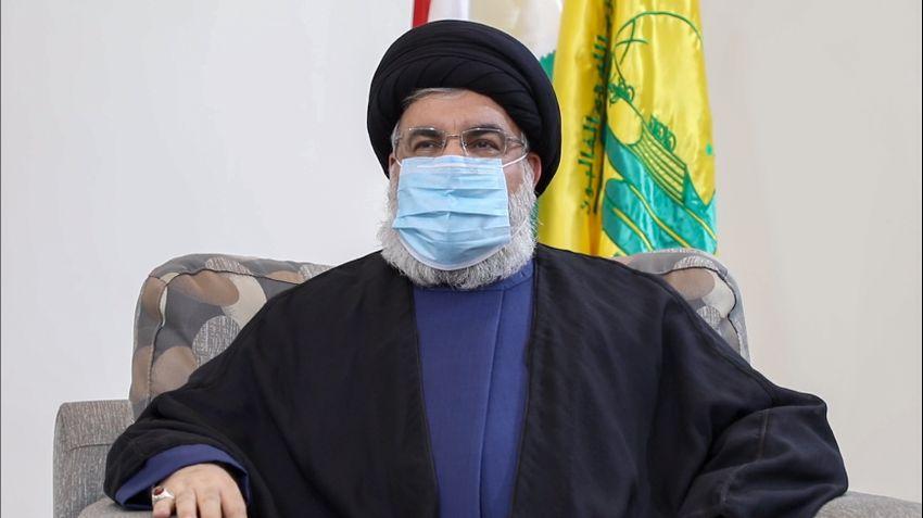 Hassan Nasrallah, leader du groupe chiite libanais Hezbollah, le 25 juillet 2020