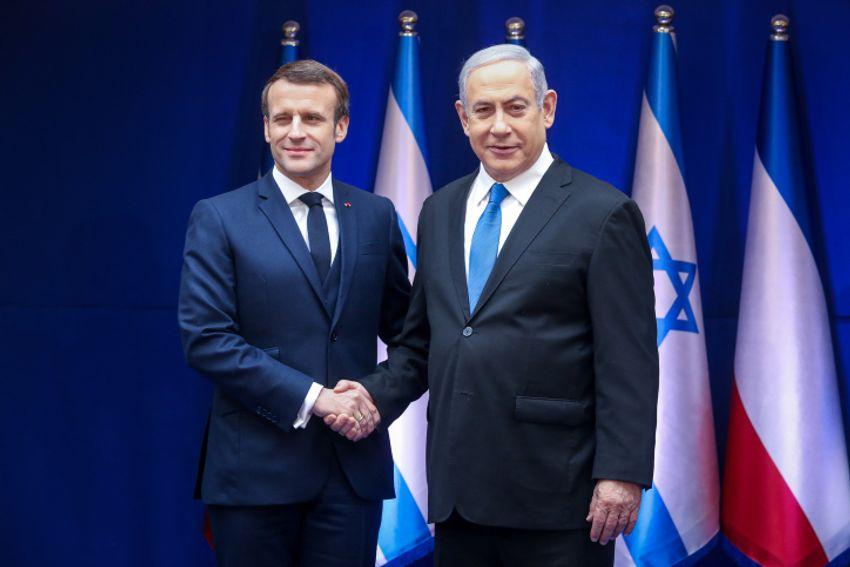 Netanyahu a Macron: armas do Hezbollah devem ser removidas de áreas povoadas