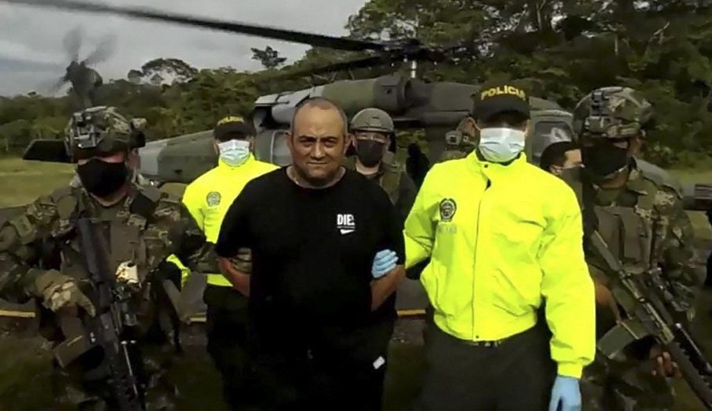 Colombia's Most-wanted Drug Lord Captured By Special Forces