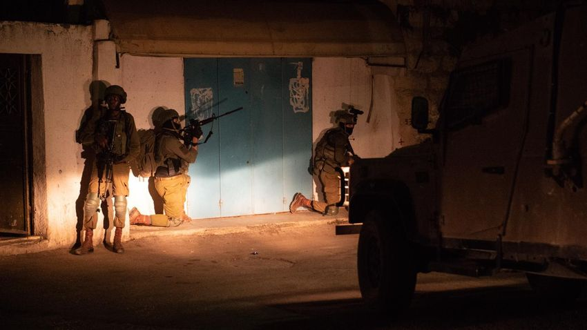 The Shin Bet raid that ended with the apprehension of the three suspects in the murder of Rina Shnerb