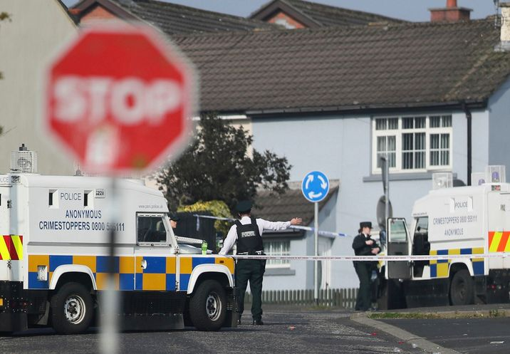 i24NEWS - Two teens held over killing of N  Irish journalist