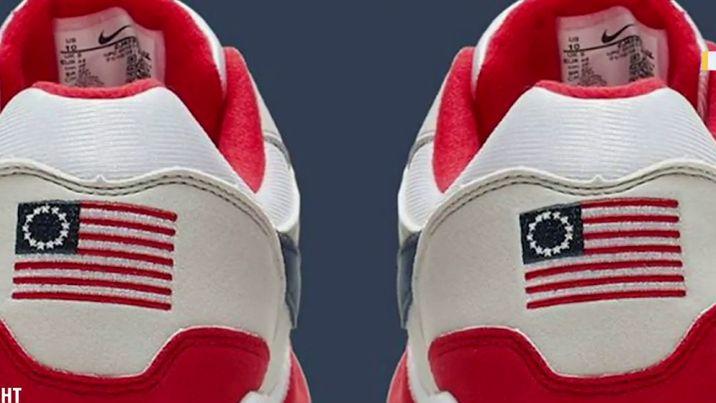 i24NEWS Nike pulls US sneaker featuring slavery era flag