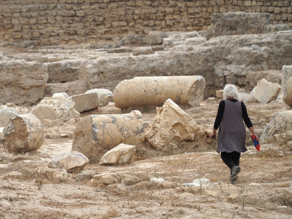 A estrutura da basílica descoberta em Ashkelon foi destruída no terremoto que ocorreu em Israel em 363 EC.