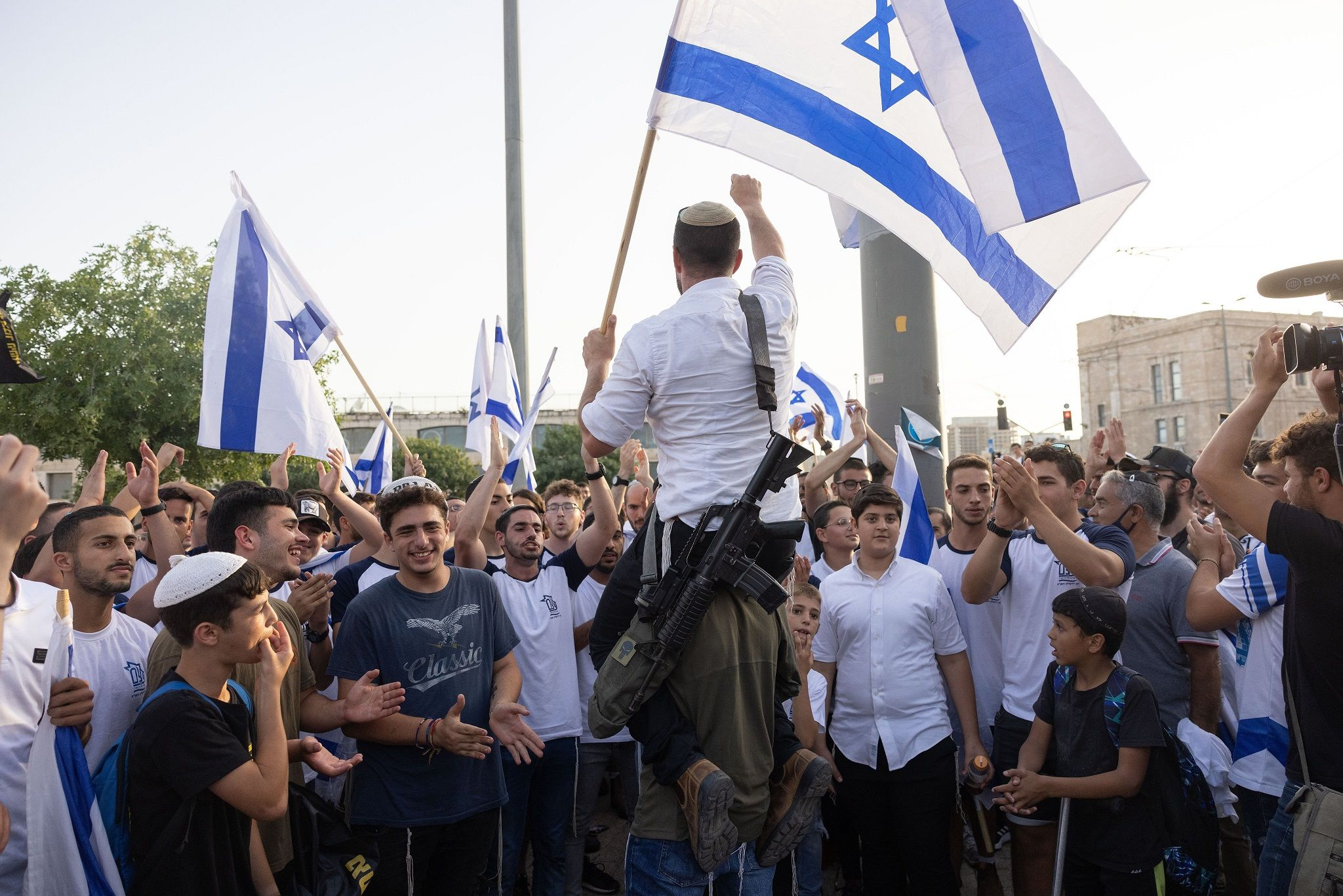 'March Of The Flags' In Jerusalem: 17 Palestinians Arrested – i24NEWS