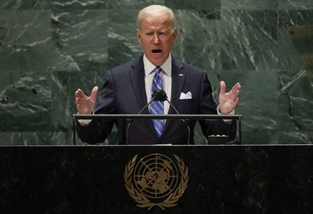 الرئيس الامريكي جو بايدن في كلمته امام الجمعية العمومية 21/9/2021