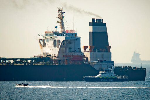 Iranian Guard says it has confiscated British oil tanker in Strait of Hormuz