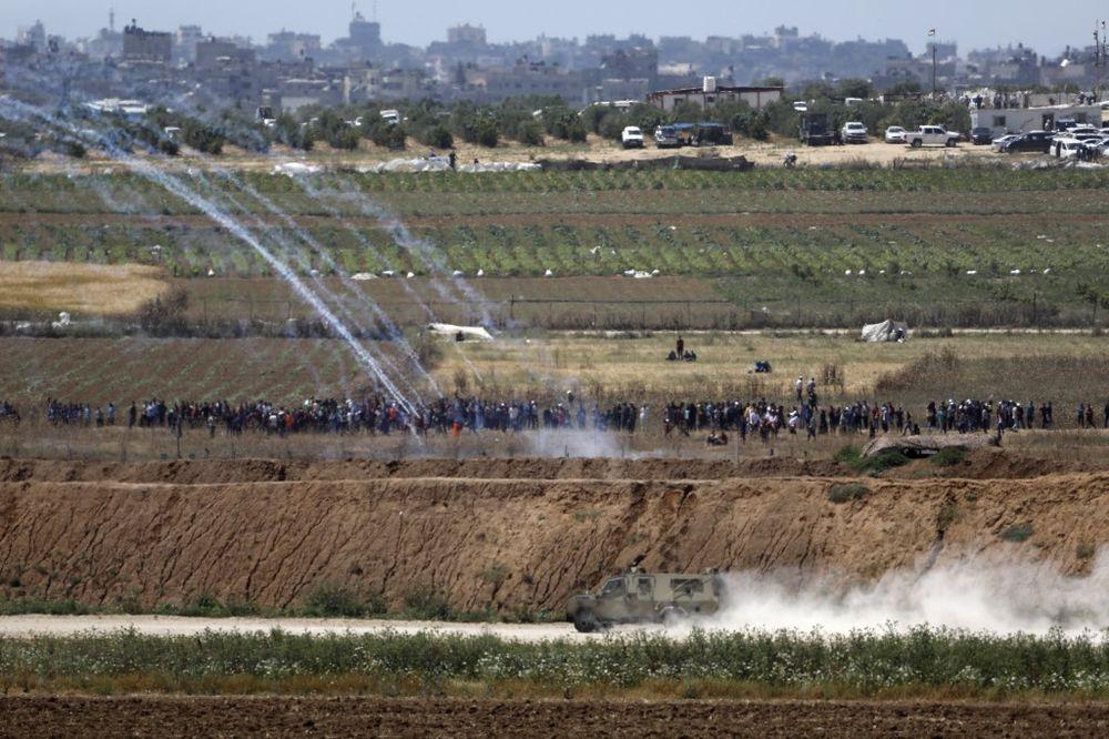 Frontière entre Israël et Gaza